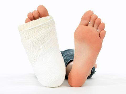 Having major injuries