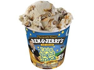 Ben & Jerry's Late Night Snack Ice Cream