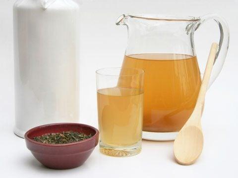 Kombucha tea (fermented tea)