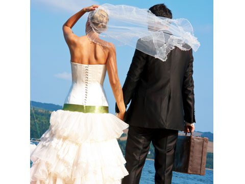 Just because you planned your own destination wedding...