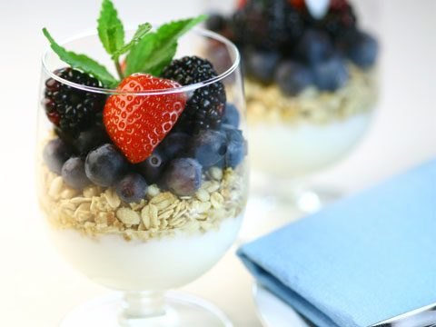 Berry and Yogurt Parfait