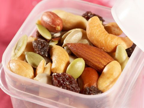Make homemade trail mix