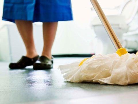 Superieur Mop The Bathroom Floors
