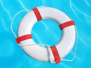 life saver float