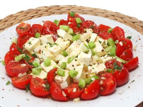7. Tomato and Feta Salad