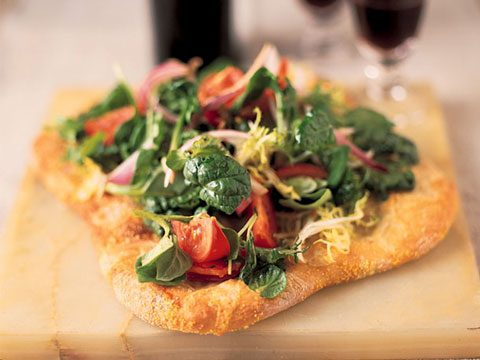 6. Salad Pizza