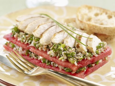 "<a href=""http://www.watermelon.org/Recipes/Watermelon-Taboule-Stacks-with-Grilled-Chicken-55.aspx"" target=""_blank"">Watermelon Taboule Stacks With Grilled Chicken</a>"
