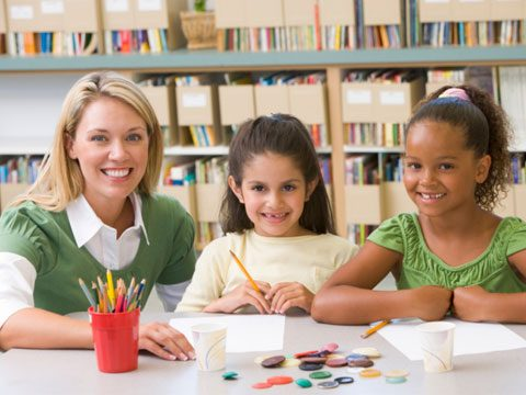 1. If we teach small children,