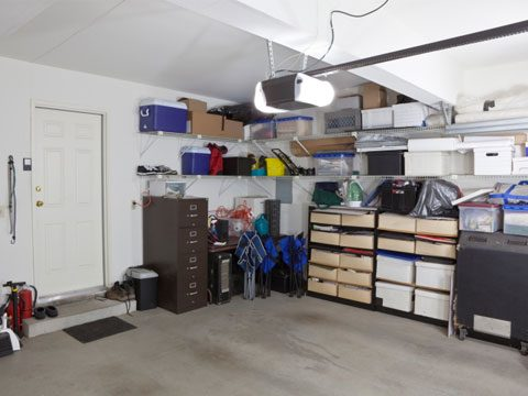 Clean out the Garage (or other spaces)
