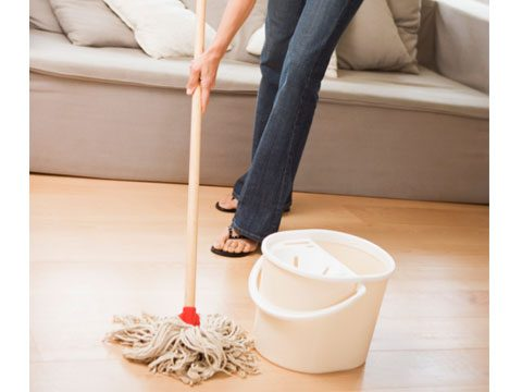 Sweeping/mopping
