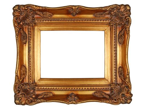 7. Choosing an eye-catching frame and mounting.