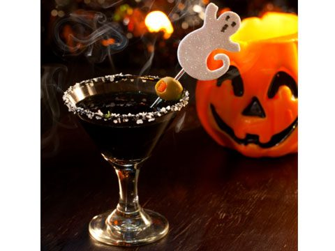 Chocolate martini, 25 Halloween Dishes for an Extreme Halloween.