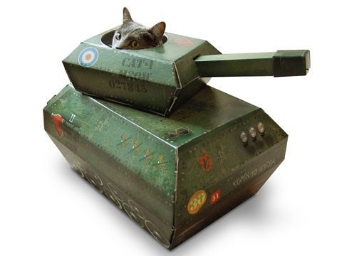 Cat Play House: Tank Commando