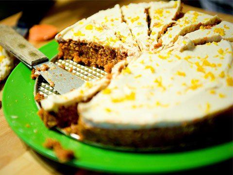 Fuss-Free Carrot Cake