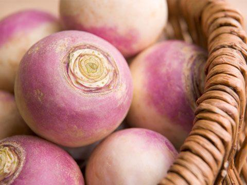 Instead of roasted potatoes try: Roasted turnips