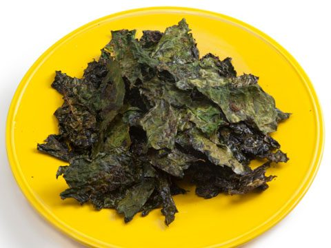 Instead of potato chips try: Kale chips