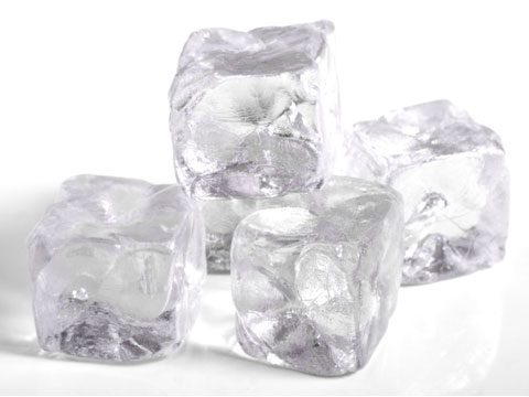10. Use ice cubes