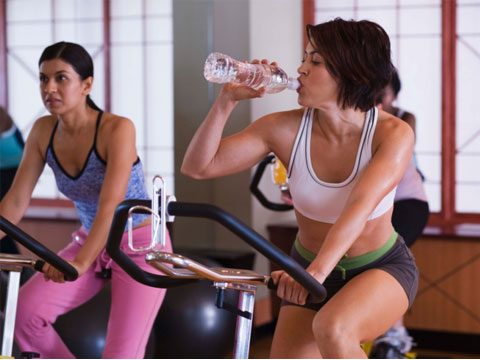 13. It kills me when you come into the fitness studio without water!