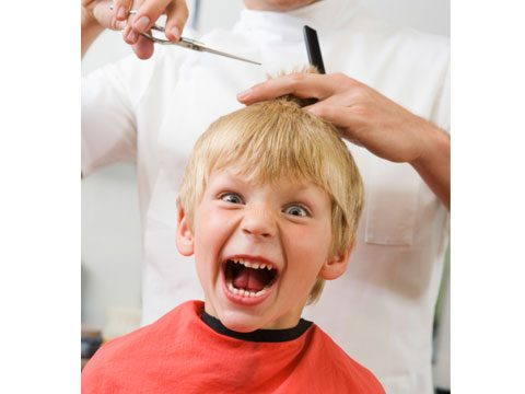 11. Kids' haircuts aren't child's play.