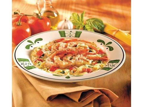 Olive Garden's Grilled Shrimp Caprese