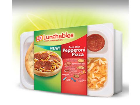 Lunchables' New Wholesome Deep Dish Pepperoni Fun Pack
