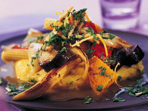 2. Eggplant and Squash Casserole