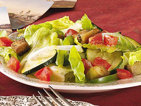 8. Tossed Eggplant Salad