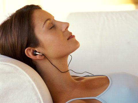 3. Listen to hypnosis CDs.