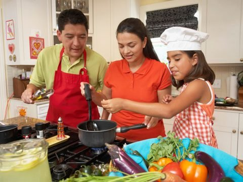 4. Cook With Your Kids