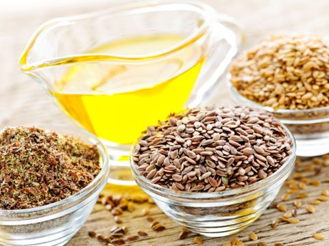 Keep a bottle of flaxseed oil on hand