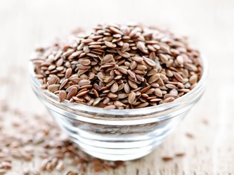 Put some flaxseeds in your spice grinder