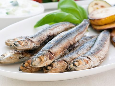 1. Anchovies
