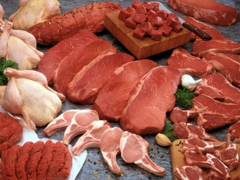 7. Frozen meat