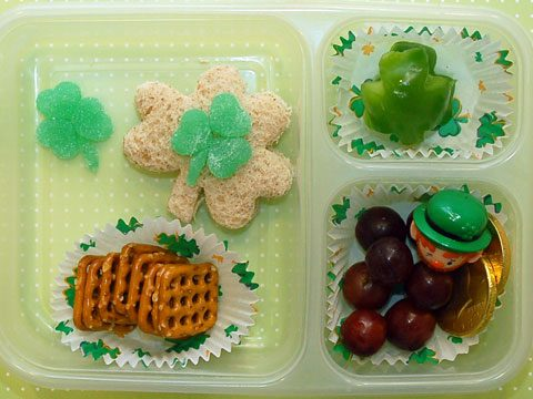 7. St. Patrick's Day Lunch