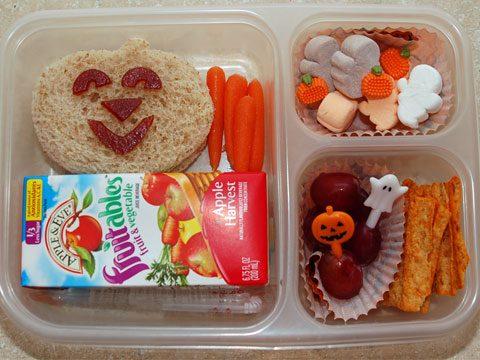 2. Halloween Lunch