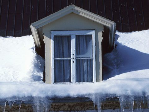 11. Prevent snow buildup on windows
