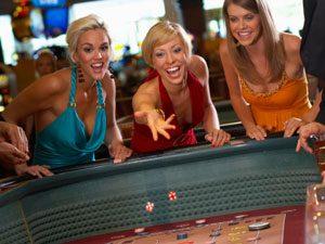 Women at a Casino