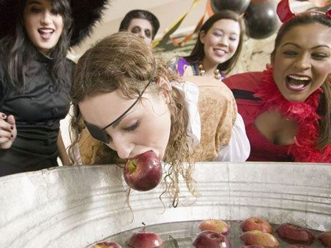 6. Apple bobbing originated in Britain