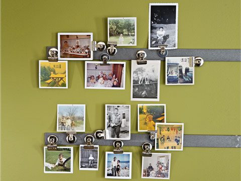 Displaying photos, etc.