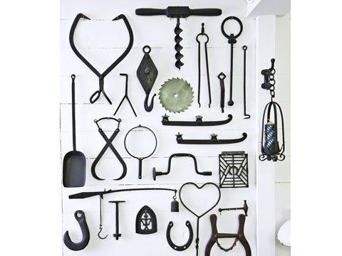 Metal tools.