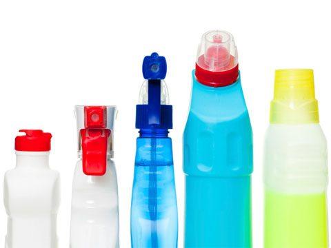 recycle hazardous household cleaners