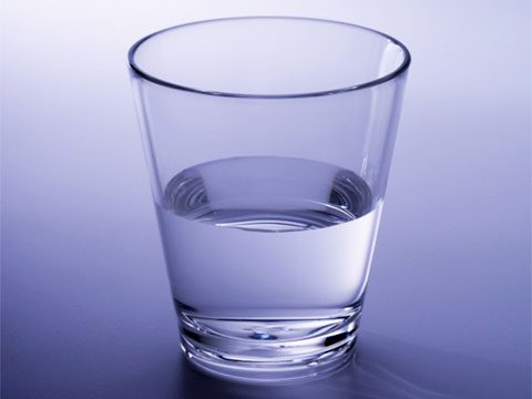 6. See this as the glass half full.