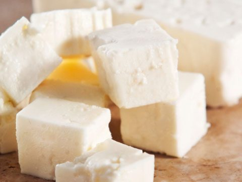 Feta Cheese: 75 calories per ounce
