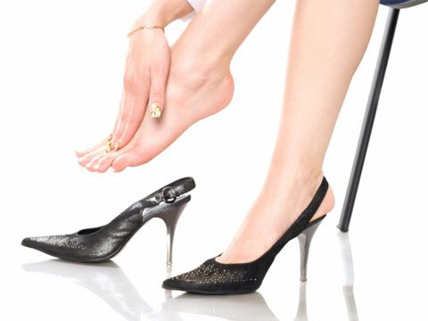 5. Some podiatrists will shorten toes or do injections so you can wear high heels more comfortably.