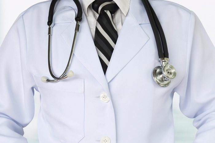 healthcare and medical concept. doctor and medical background with copy space.