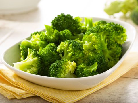 2. Eat your fill of broccoli, but steam it rather than microwaving it.
