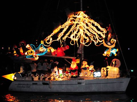 Annapolis, Maryland: 29th Annual Eastport Yacht Club's Parade of Lights