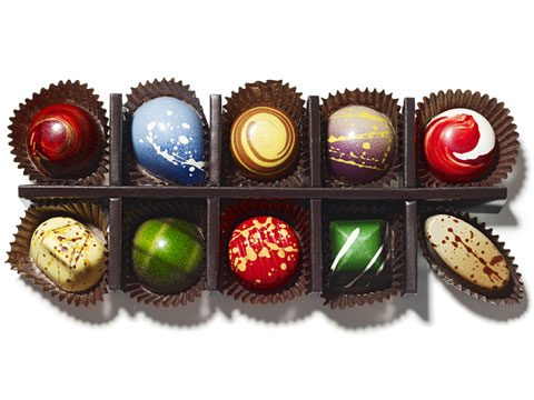 holiday gift guide, Norman Love Confections 15-Piece Signature Chocolates