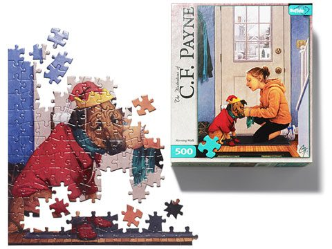 holiday gift guide, C.F. Payne puzzles