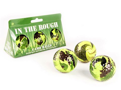 holiday gift guide, Camo Golf Balls